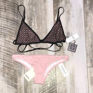 PacSun Swim - Black & Pink Bikini